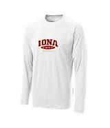Men's Sport Tek Long Sleeve Ultimate Performance CrewLS in White