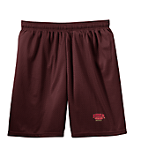 Men's Sport Tek Mesh Short in Maroon