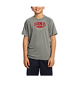 Sport Tek Youth Ultimate Performance Crew in Heather Grey