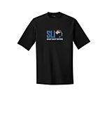 Sport Tek Youth Ultimate Performance Crew in Black