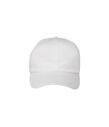 Men's Garment Washed Cotton Twill Cap in White