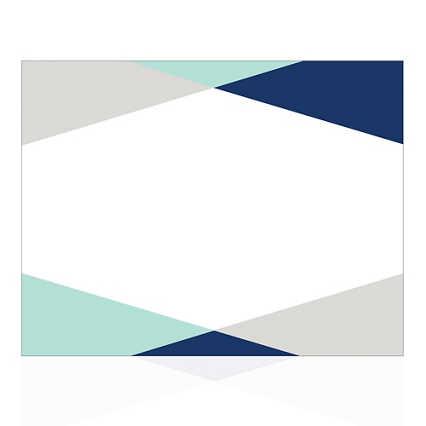 Modern Certificate Paper - Block