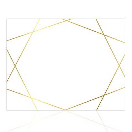 Foil-Stamped Certificate Paper - Artful