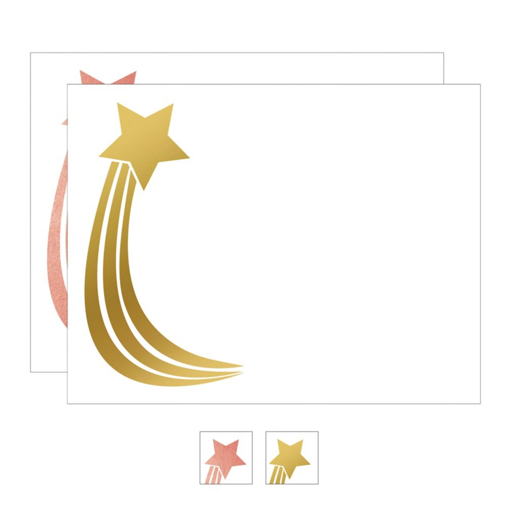 View larger image of Foil-Stamped Certificate Paper - Star Trail