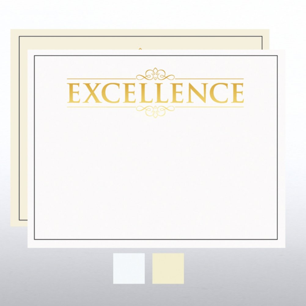 View larger image of Foil Certificate Paper - Excellence