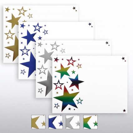 Foil Certificate Paper - Bright Stars