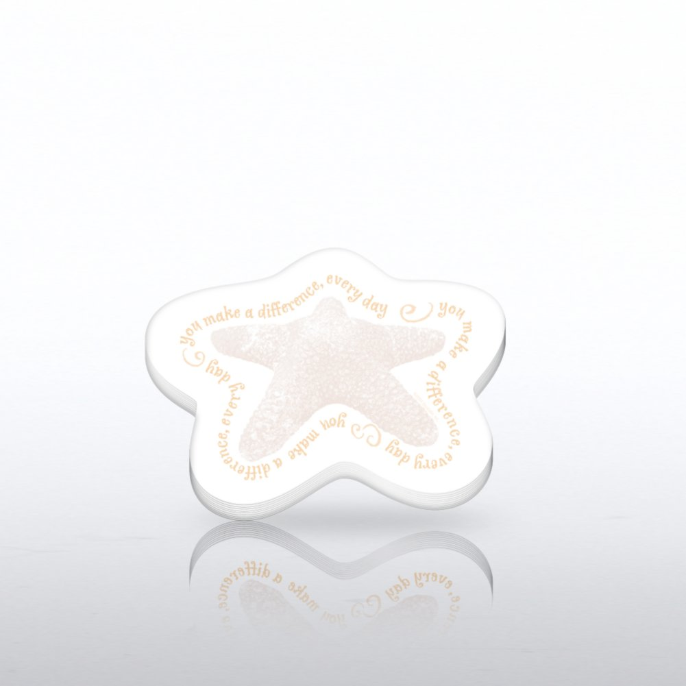 View larger image of Taking-Note Pads - Sand Starfish