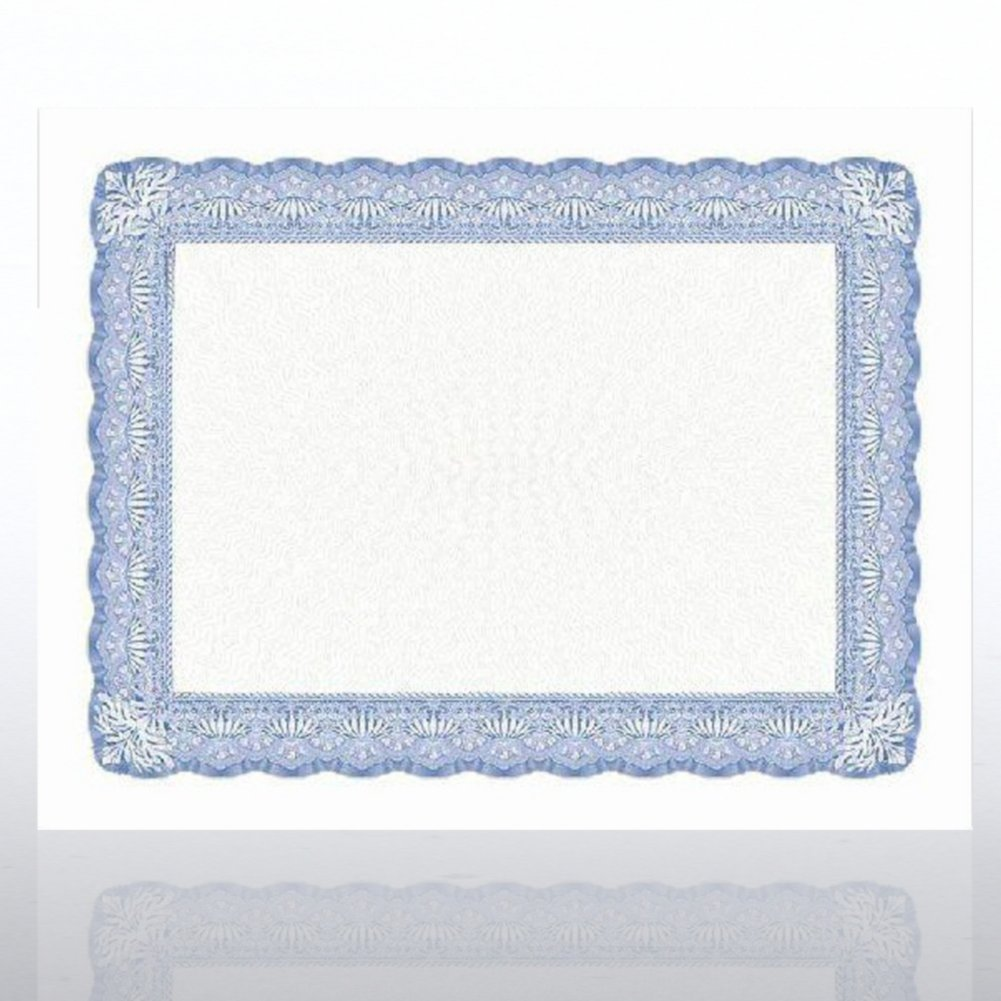 View larger image of 2RBI11 - Certificate Paper - Ivy - Royal Blue