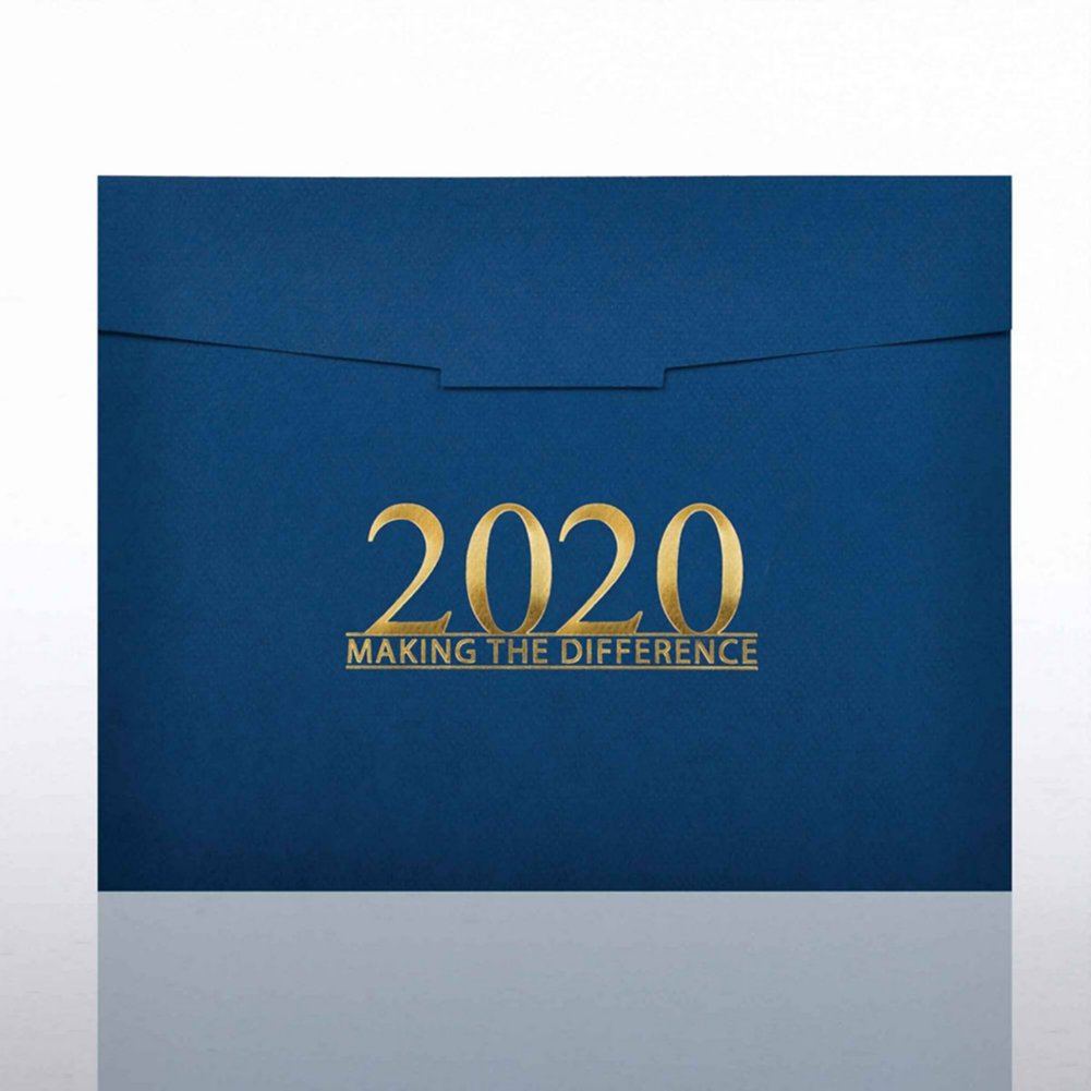 View larger image of Foil-Stamped Certificate Folder - MAD - 2020