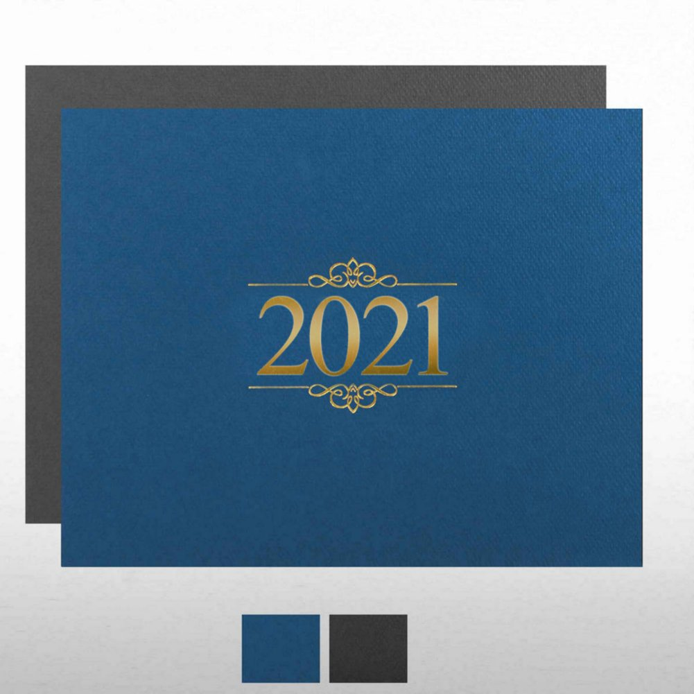 View larger image of Foil Certificate Cover - 2021 Ornaments
