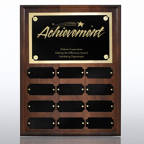 View larger image of Perpetual Plaque - Walnut
