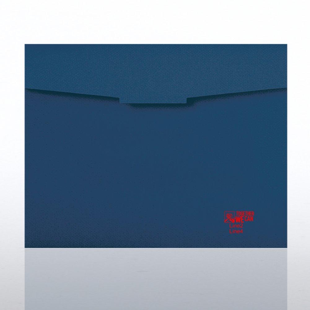Embossed Puzzle Piece Certificate Folder