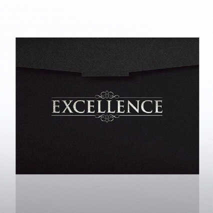 Excellence Certificate Folder
