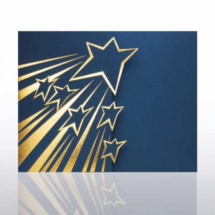 Shooting Star Gatefold Certificate Folder