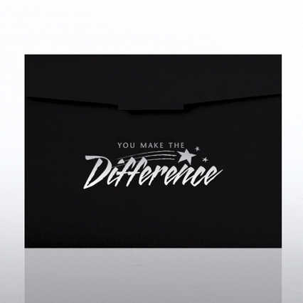 You Make the Difference Certificate Folder