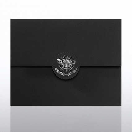 Lamp Serrated Flap Foil Certificate Folder