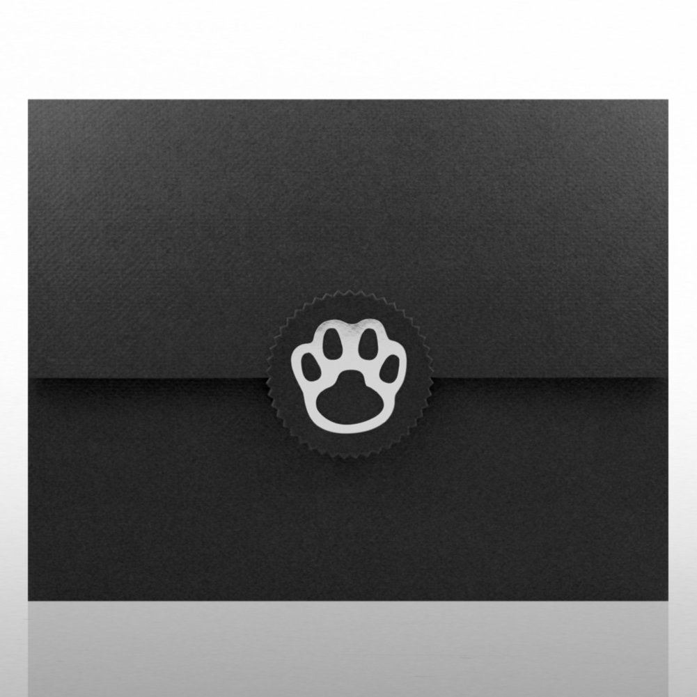 View larger image of Paw Foil Certificate Folder