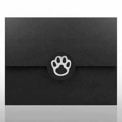 Paw Foil Certificate Folder