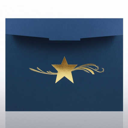 Star Dream Foil Certificate Folder