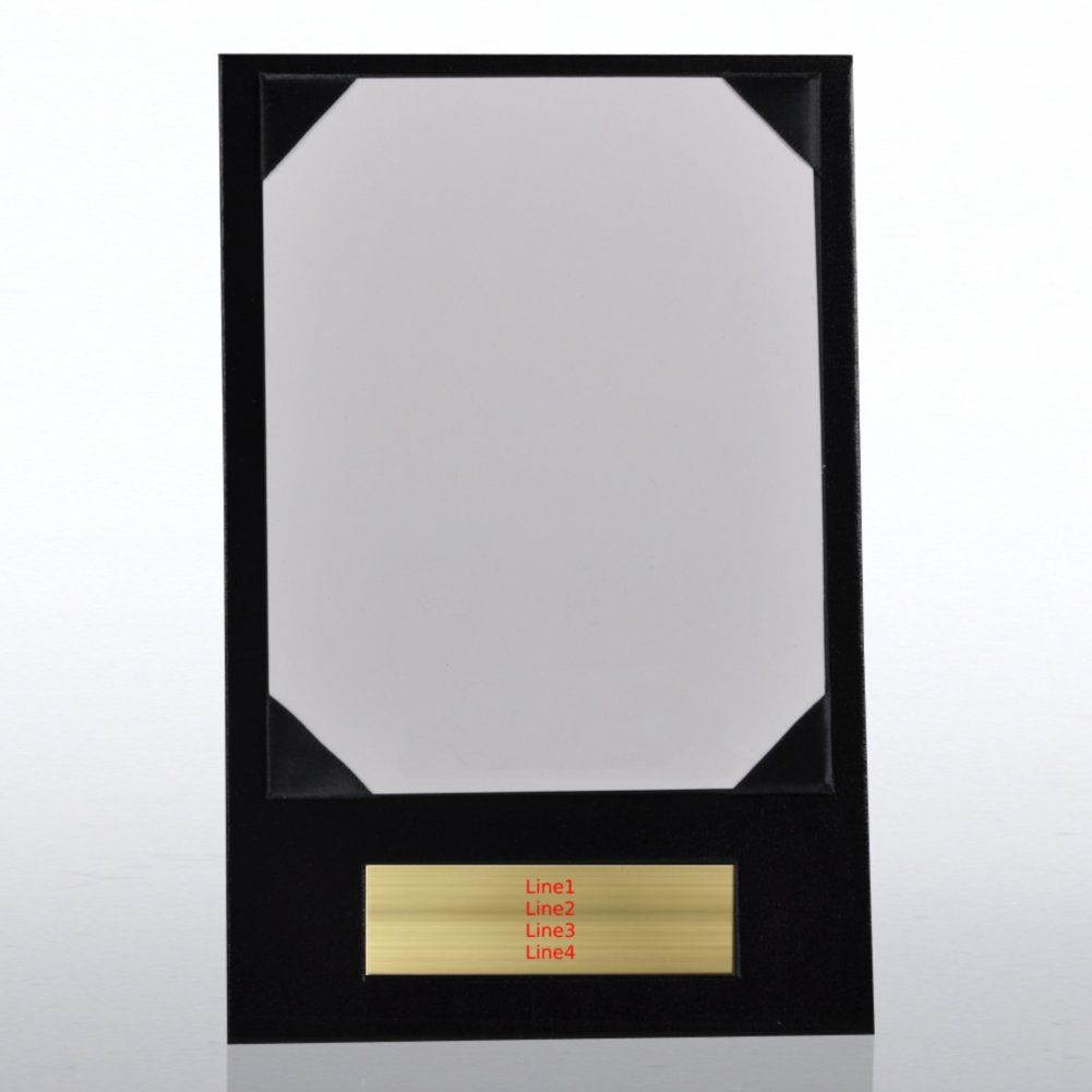 Engraved Presentation Board - Black