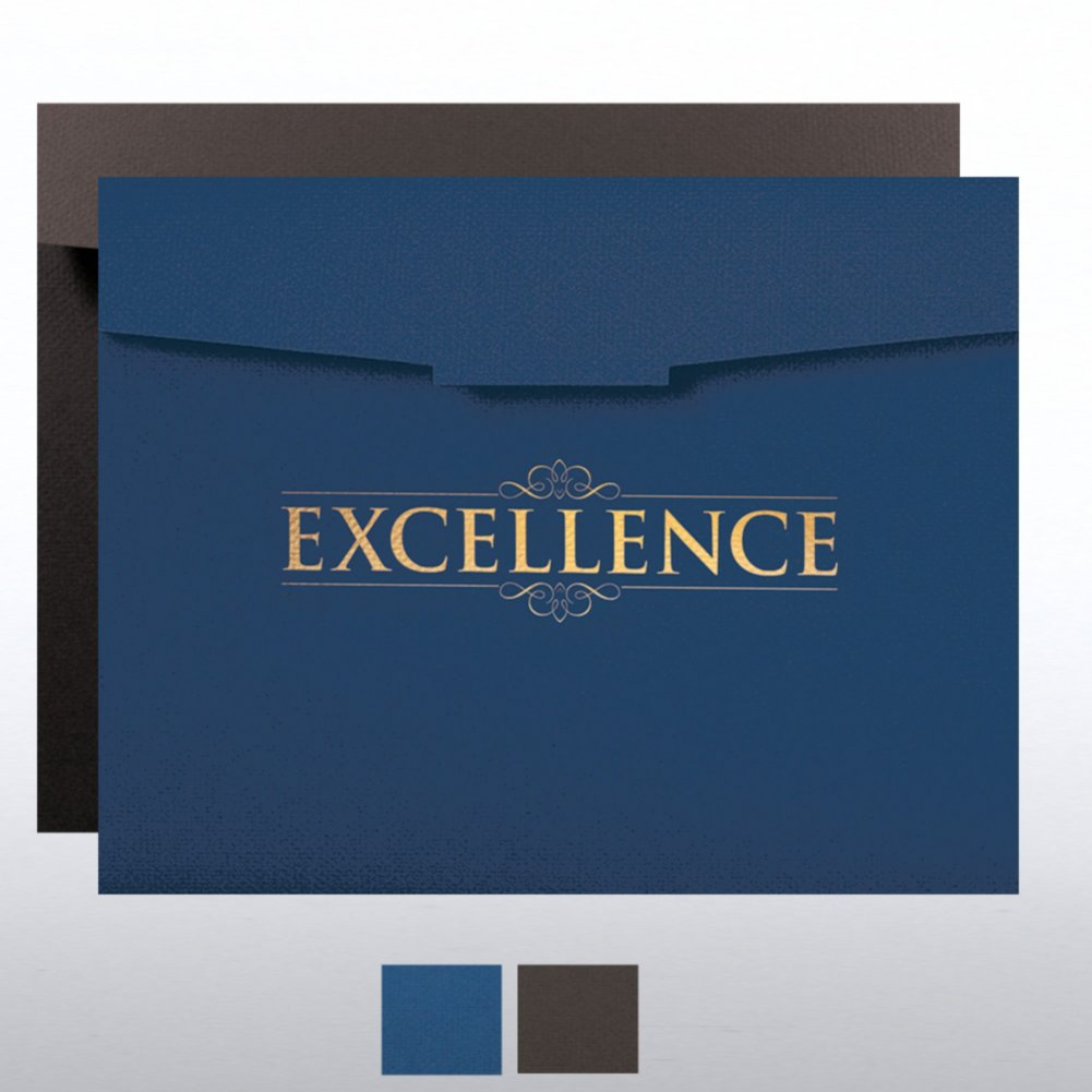 View larger image of Excellence Certificate Folder