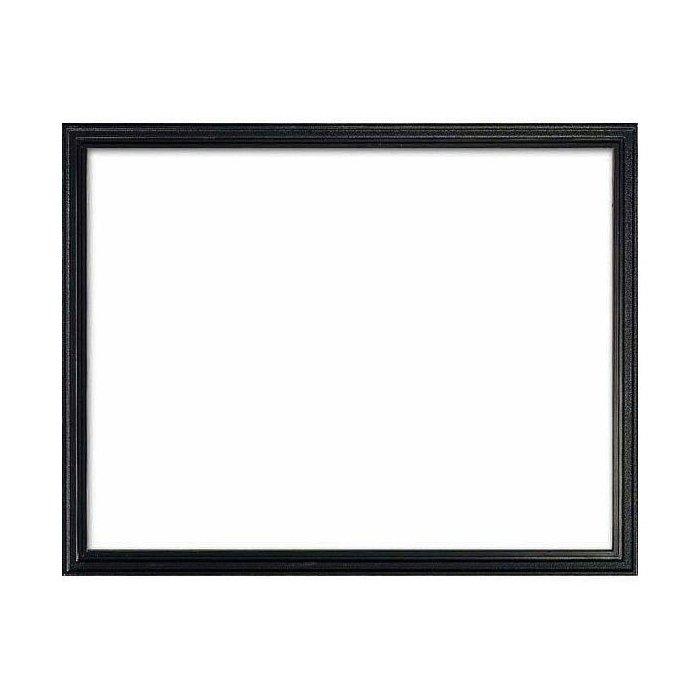 Black Molded Plastic Frame