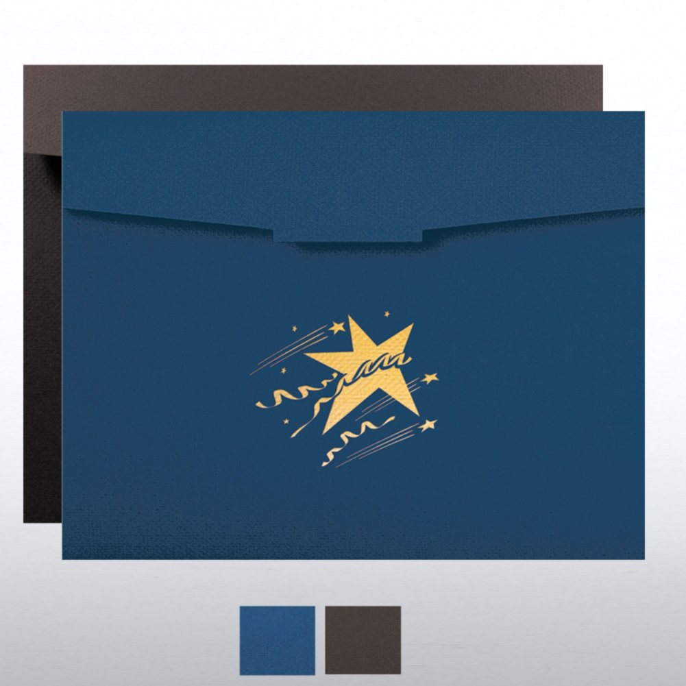 View larger image of Celebration Star Certificate Folder