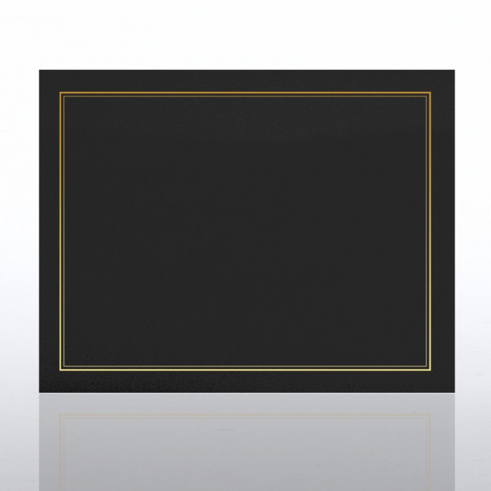 View larger image of Gold Foil Border Certificate Cover