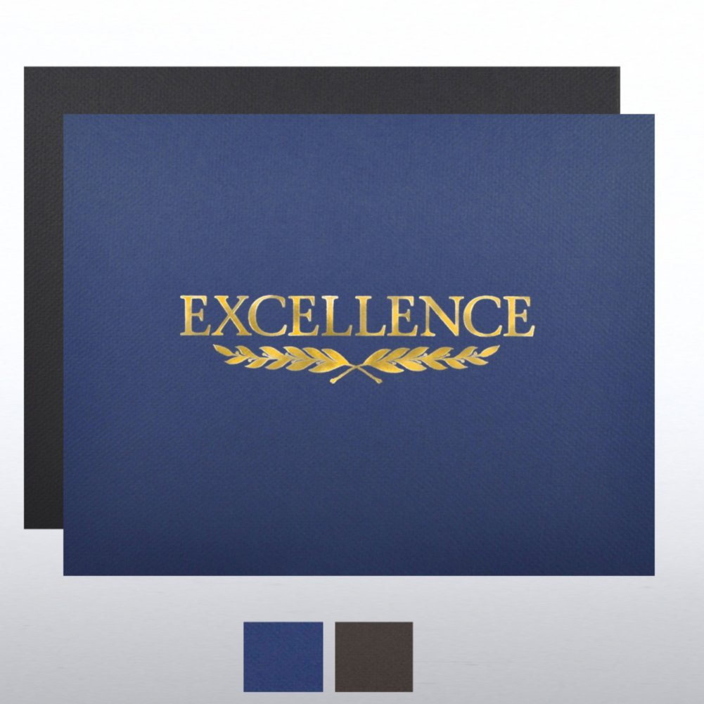 View larger image of Foil Certificate Cover - Excellence Laurel