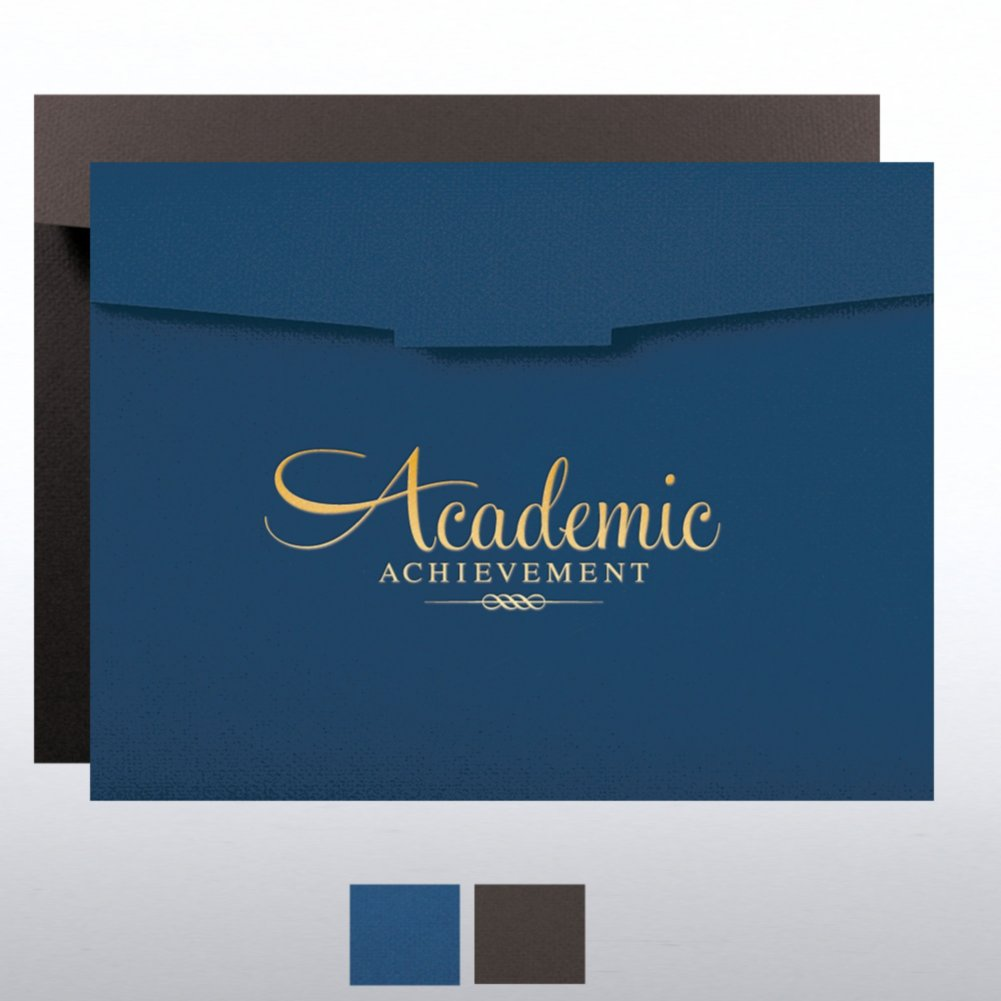 View larger image of Academic Achievement Foil Certificate Folder