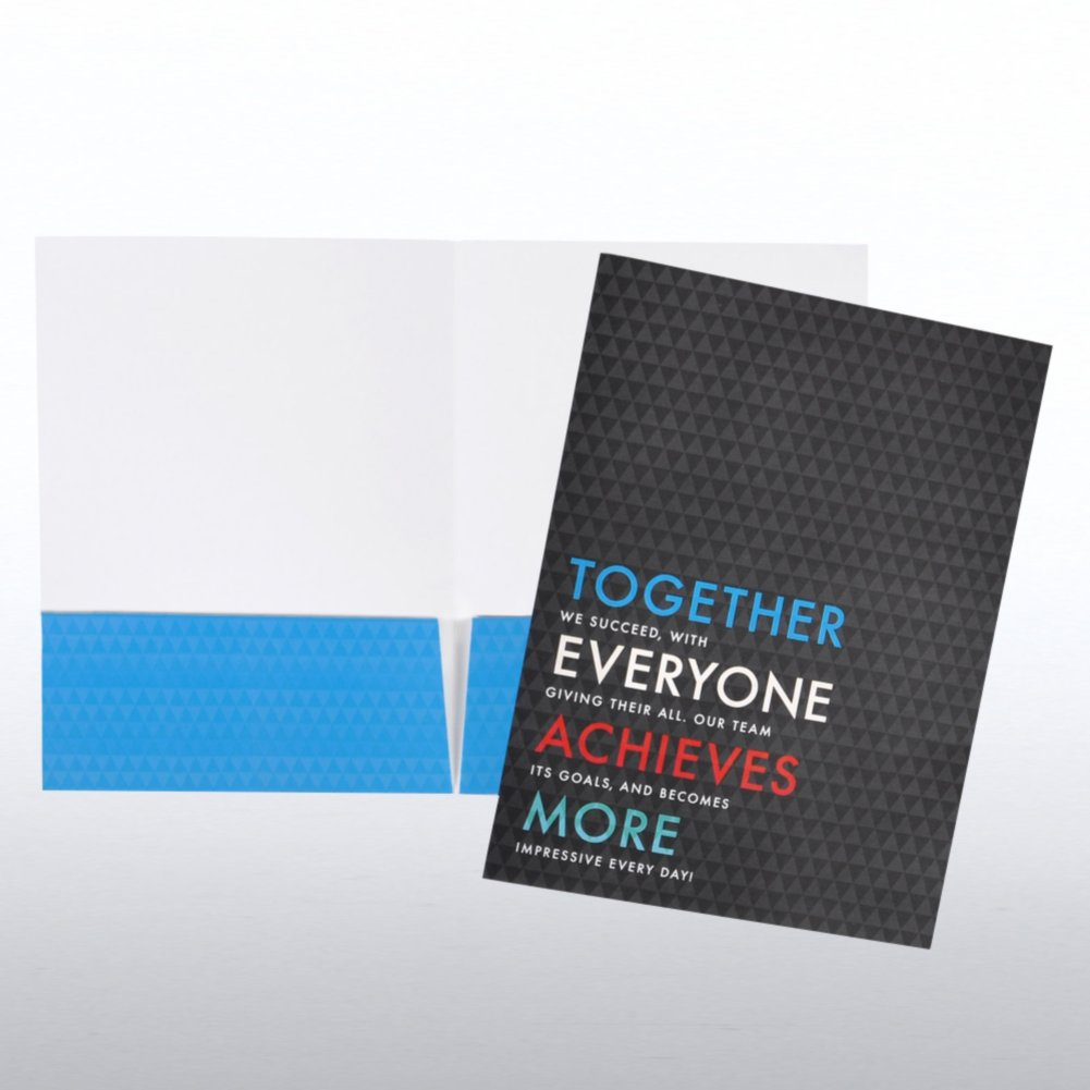 View larger image of Pocket Folder - Together Everyone Achieves More