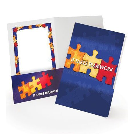 View larger image of Pocket Folder - It Takes Teamwork