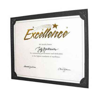 Praise Displays - Black - Silver Foil