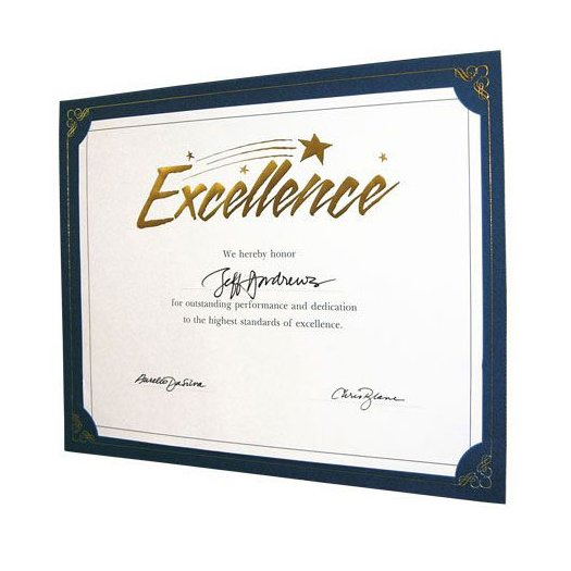 View larger image of Praise Displays - Blue - Gold Foil