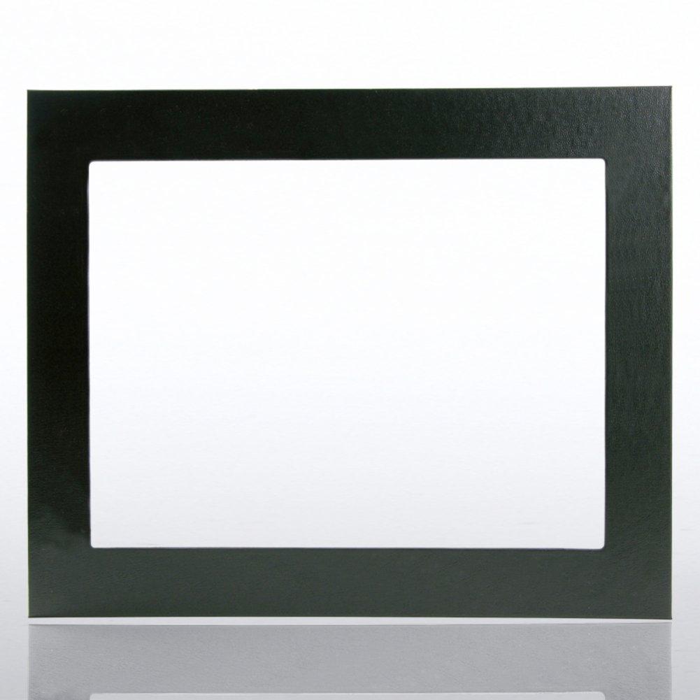Leatherette Frame - Black