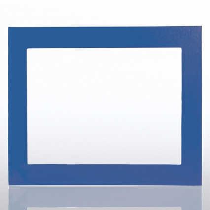 Leatherette Frame - Blue