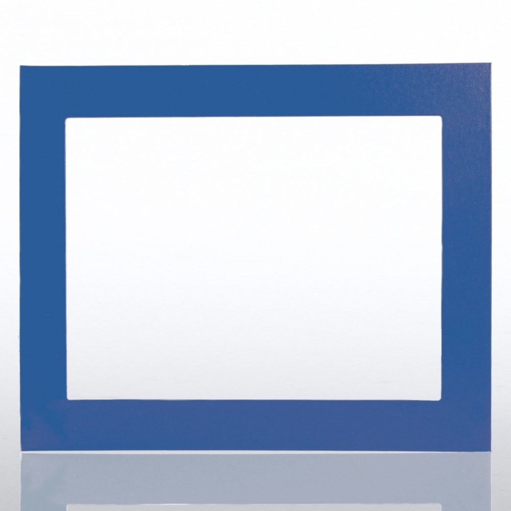 View larger image of Leatherette Frame - Blue