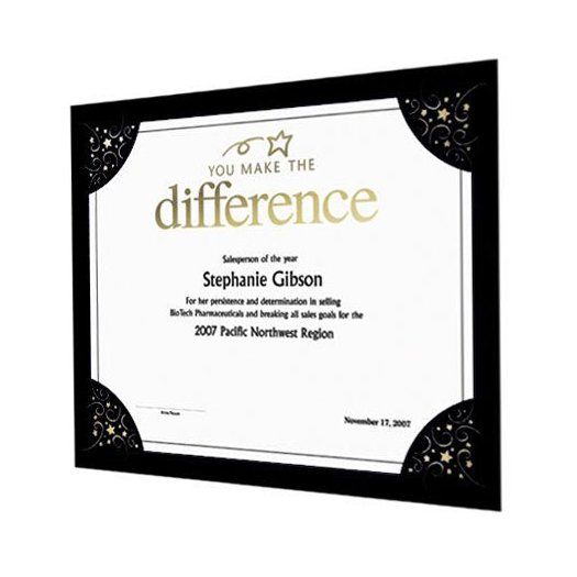 View larger image of Praise Displays - Black - Silver Foil Swirl Stars