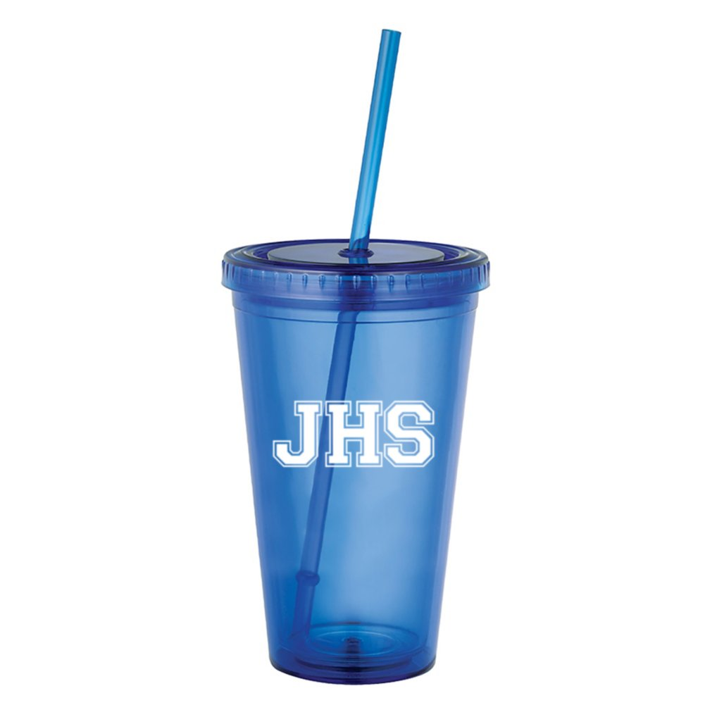 View larger image of Add Your Logo: Essential Double Wall Value Tumbler