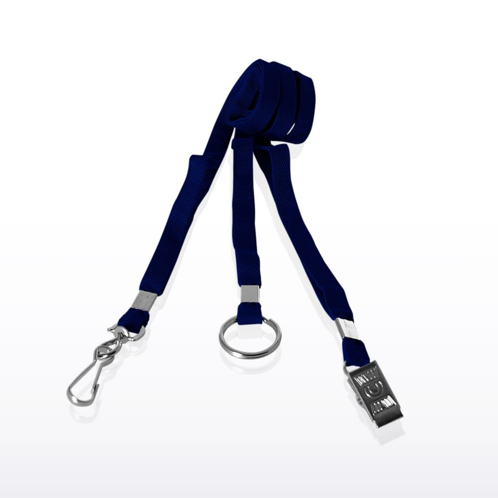 View larger image of Stock Lanyard - Flat Woven
