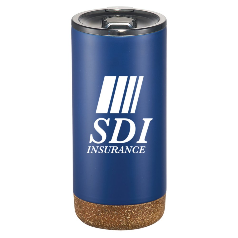 View larger image of Add Your Logo: 16 oz Copper Insulated Matte Travel Tumbler