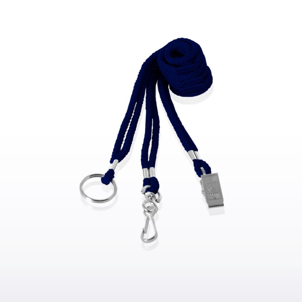 View larger image of Stock Lanyard - Round Woven Breakaway