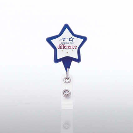 Themed Badge Reel - Star - Making the Difference