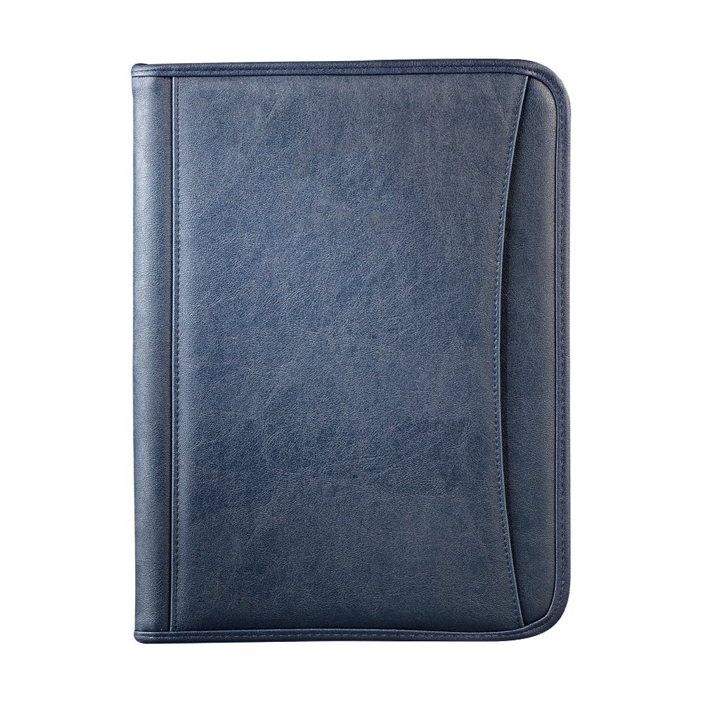 View larger image of Add Your Logo: Durahyde Zippered Padfolio
