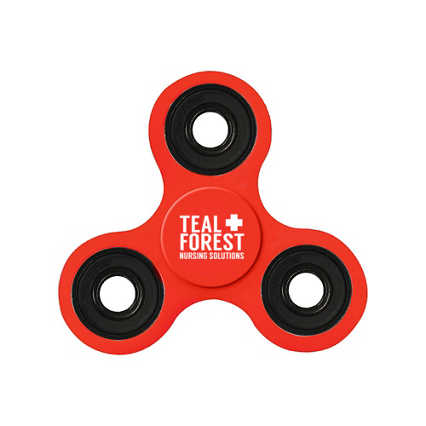 Add Your Logo:  Custom Fidget Spinner