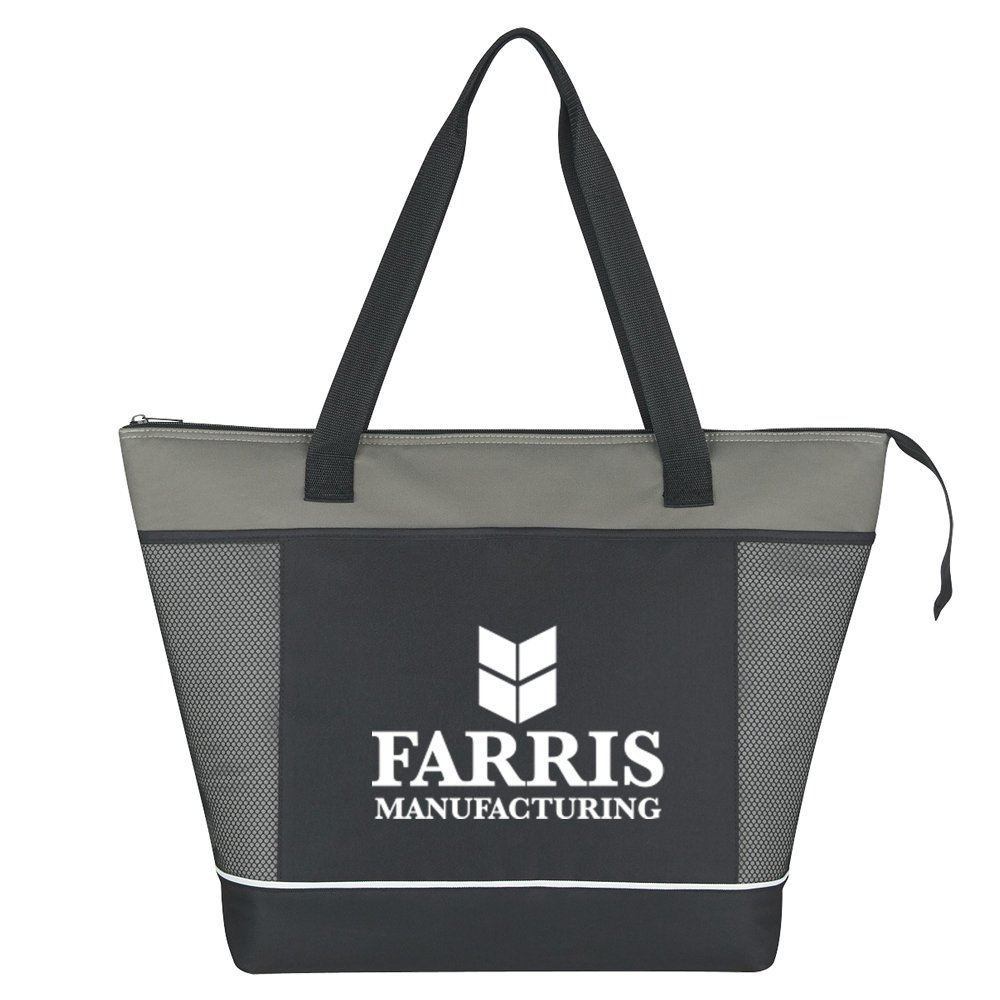 View larger image of Add Your Logo: Super Shopping Cooler Tote Bag