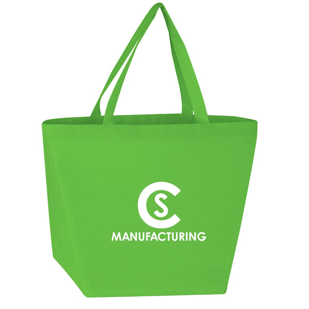 View larger image of Add Your Logo: Budget Shopper Tote