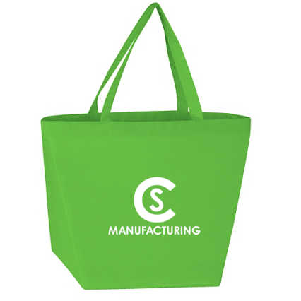 Add Your Logo: Budget Shopper Tote