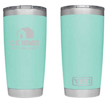 Add Your Logo: Customized Yeti - 20 oz Rambler Tumbler