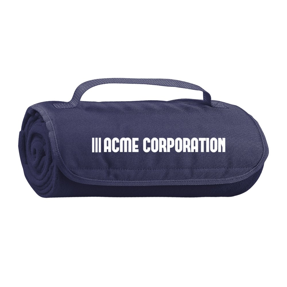 View larger image of Add Your Logo: Roll-Up Blanket